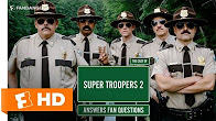 The Cast of 'Super Troopers 2' Answer Fan Questions (2018) Interview | All Access - Продолжительность: 2 минуты 7 секунд