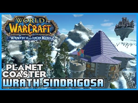 WORLD OF WARCRAFT COASTER!: Wrath of Sindrigosa! Coaster Spotlight 19 #PlanetCoaster