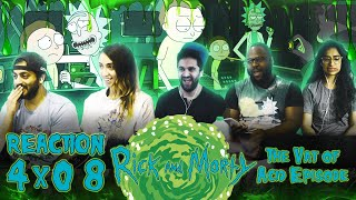 Rick and Morty - 4x8 The Vat of Acid Episode - Group Reaction