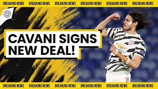 Edinson Cavani Contract CONFIRMED | Breaking Man United News