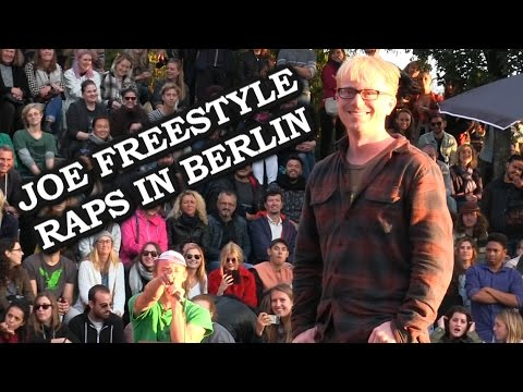 Joe Freestyle Raps At Bearpit Karaoke In Berlin
