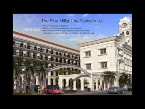 Penang upmarket properties - The Rice Miller Residences Georgetown Penang