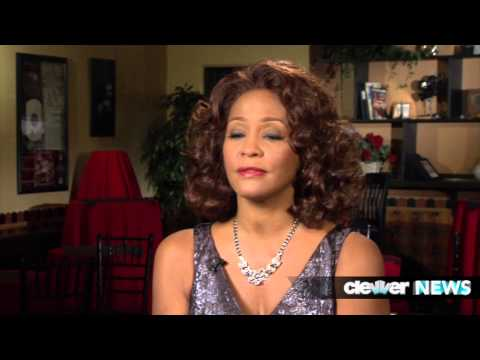 Whitney Houston Last Interview - Talks Sparkle!