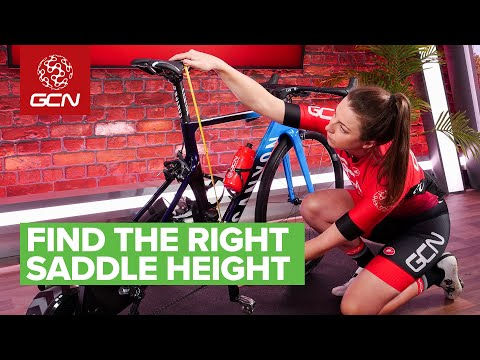 How To Find The Right Saddle Height On Your Road Bike