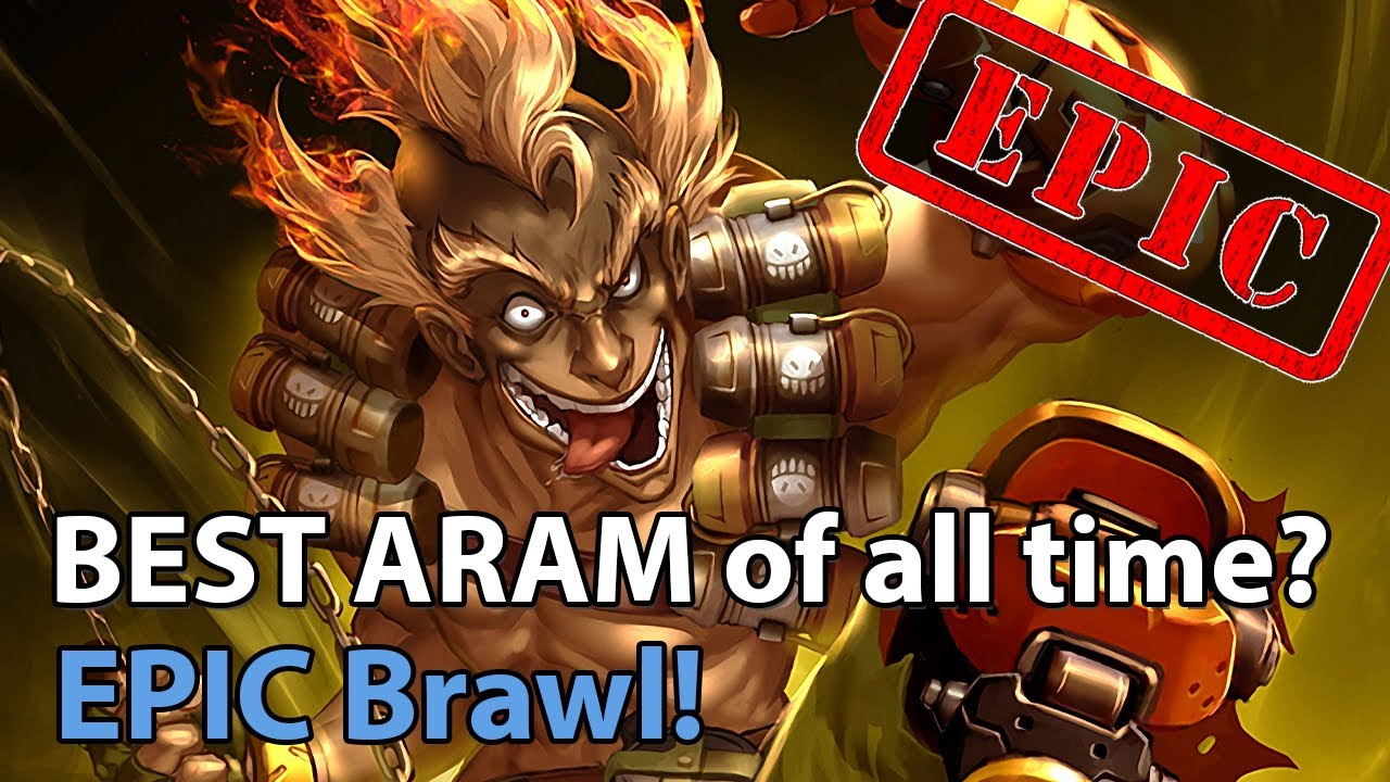 BEST ARAM of all time?! - Heroes of the Storm Brawl