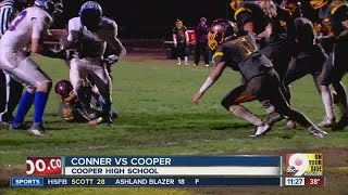 Cooper advances with a win over Conner