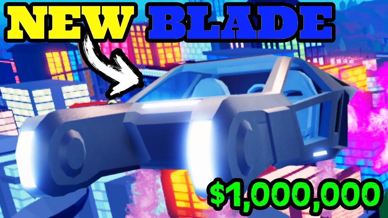 Roblox Jailbreak New Blade New Blade Flying Vehicle In Roblox Jailbreak Youtube