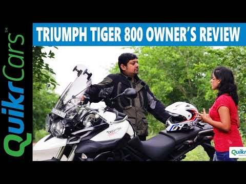 Triumph Tiger 800 XC Long Term Ownership Review | Pros And Cons | QuikrCars