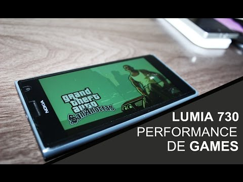 Lumia 730 Performance em jogos!