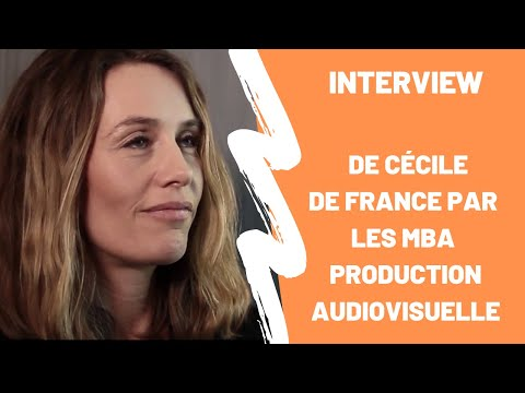 Interview de Cécile de France, par les étudiants du MBA Production audiovisuelle
