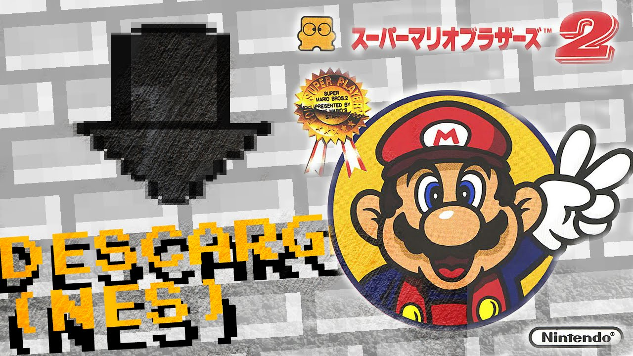 Descarga Super Mario Bros 2 Lost Levels Nes Youtube