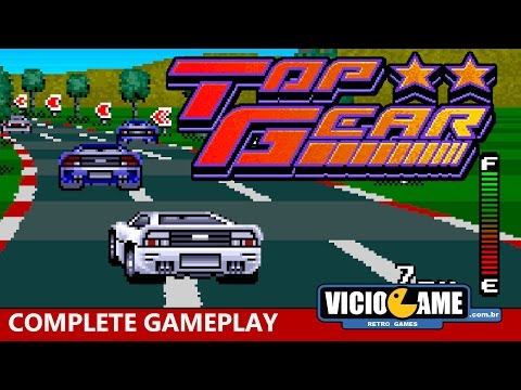 🎮 Top Gear (Super Nintendo) - Complete Gameplay