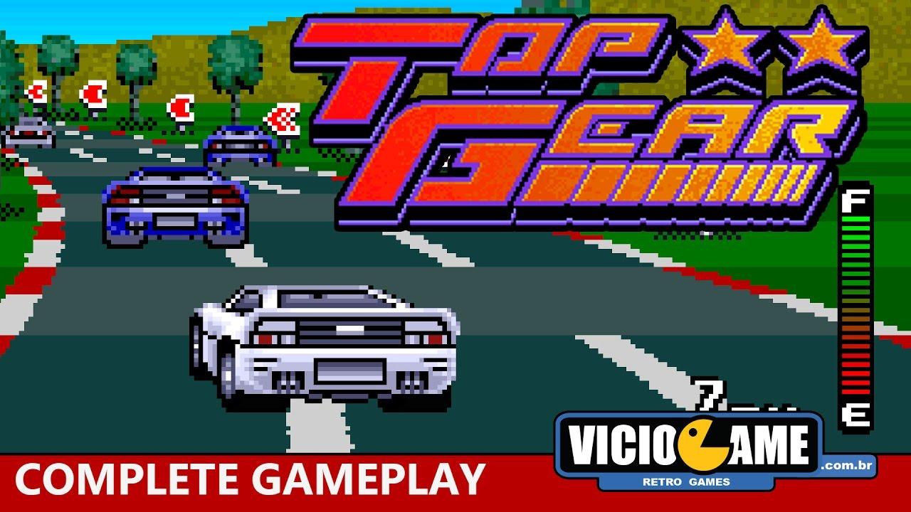 🎮 Top Gear (Super Nintendo) – Complete Gameplay