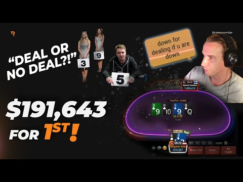 Deal Or No Deal For $192,000 Vs. €urop€an?! | Twitch Poker Highlights