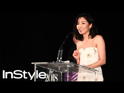 Awkwafina and Constance Wu Celebrate the Badass Woman Award | InStyle Awards | InStyle