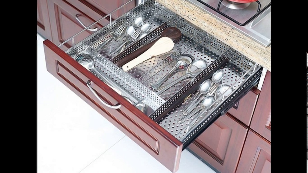 Design of kitchen trolley youtube for Kitchen trolley design