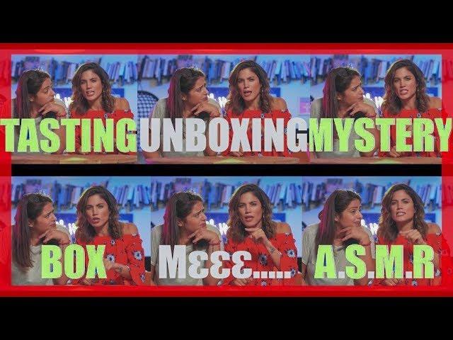 Tasting Unboxing Mystery Box Με A.S.M.R. Kαι Αλικάκι!