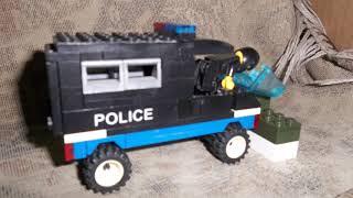 #3 Lego Мультик погоня от военных