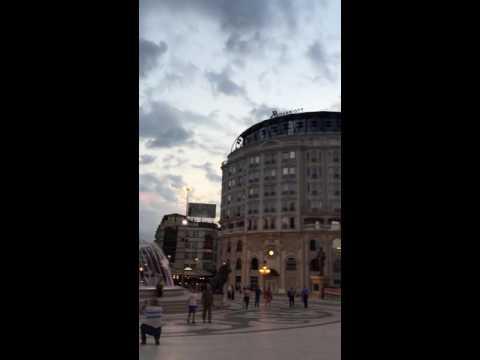 Skopje Main Square
