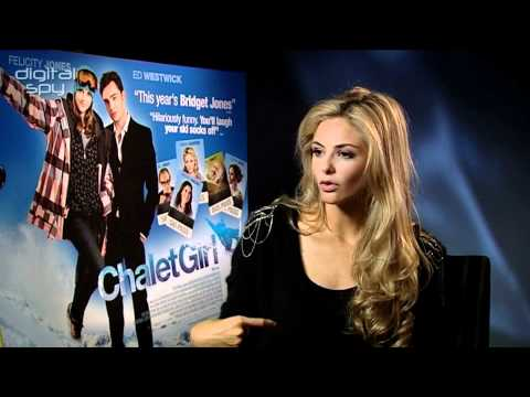 Tamsin Egerton on 'Chalet Girl'