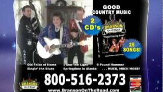 Branson On The Road - Good Country Music TV Ad