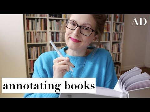 How To Annotate Books