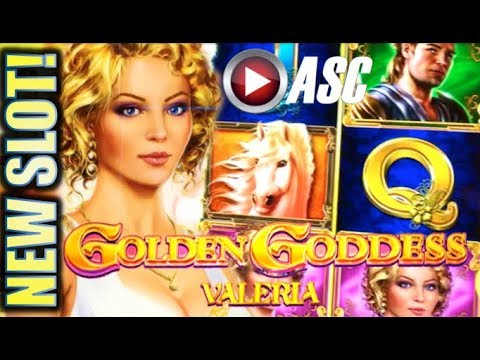 ★NEW SLOTS!★ GOLDEN GODDESS (VALERIA & TULLIA) IGT | G2E 2017 SNEAK PEEK PREVIEW! SLOT MACHINE BONUS