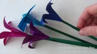 Как сделать стебель для цветов