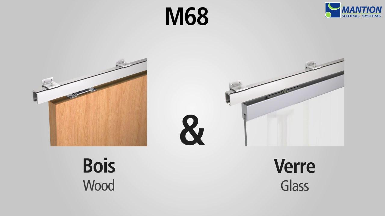 Poser Des Portes Coulissantes Sous Pente m68 : amortisseur ferme-porte - mantion systèmes coulissants