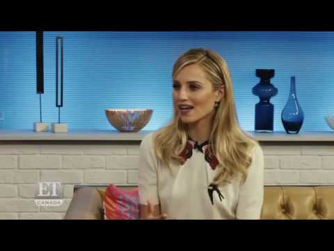 Dianna Agron ET Canada -  Interview