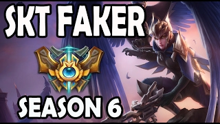 SKT T1 Faker Quinn vs Gangplank MID Ranked Challenger Korea [Patch 5.23]