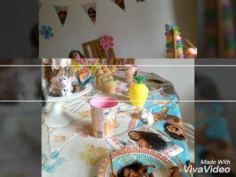 Anniversaire Vaiana Youtube