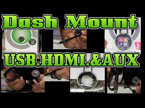 Dash Mountable USB,HDMI,and Aux From Pac Audio And ISimple