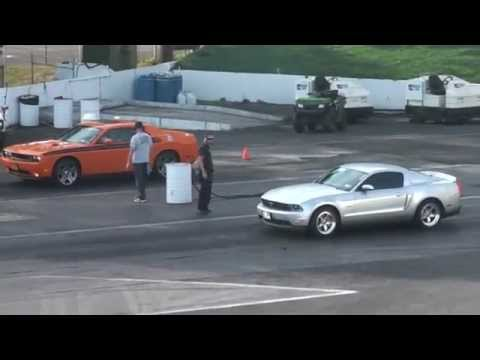 2012 Ford Mustang GT vs 2012 Dodge Challenger RT  YouTube