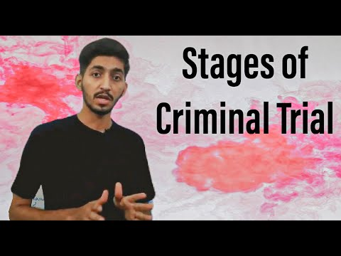 Stages Of Criminal Trial | Criminal Judicial Process Under The Constitution Of Pakistan