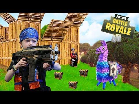 Nerf War:  Fortnite Battle Royale