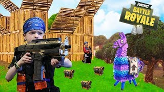 Nerf War:  Fortnite Battle Royale In Real Life