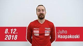 Haastattelussa Juho Haapakoski