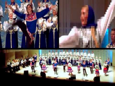 Siberian company song and dance from Omsk. Presentation.