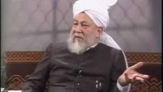 Liqa Ma'al Arab 5 April 1995 Question/Answer English/Arabic Islam Ahmadiyya