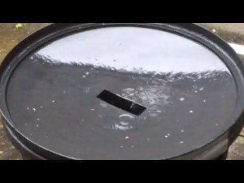 r cup rer l 39 eau de pluie pour le potager bio youtube. Black Bedroom Furniture Sets. Home Design Ideas