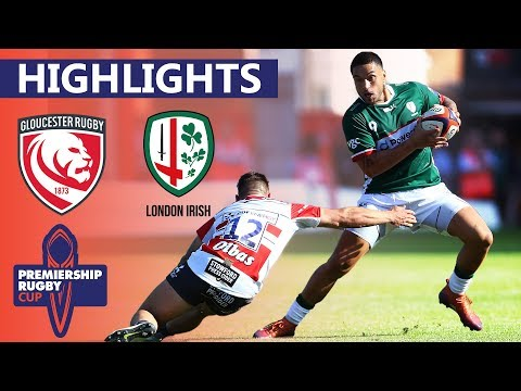 Gloucester 29-49 London Irish | Scott Steele Hat-Trick Secures Victory | Premiership Rugby Cup