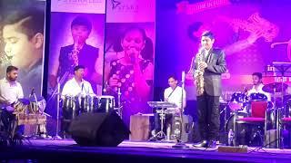 Chura liya hai ... HARSH BHAVSAR playing Saxophone instrumental At pune