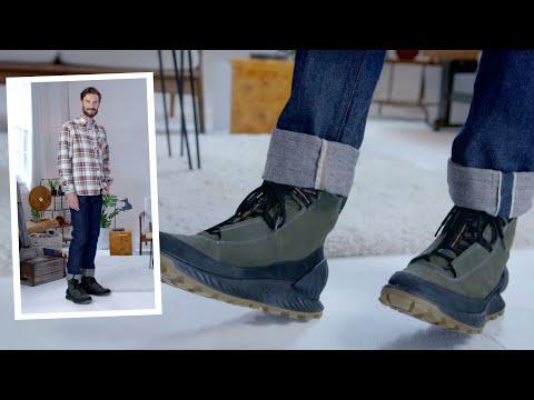 How To Wear | ECCO Men's Exostrike GTX Boots