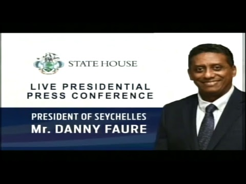 SBC SEYCHELLES - Live Presidential Press Conference - 16 Aug 2017