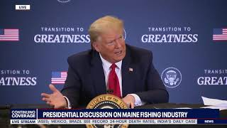 SEA (MORE) FOOD: President Trump PROMISES Fishing Industry That Obama Regulations HAVE ENDED