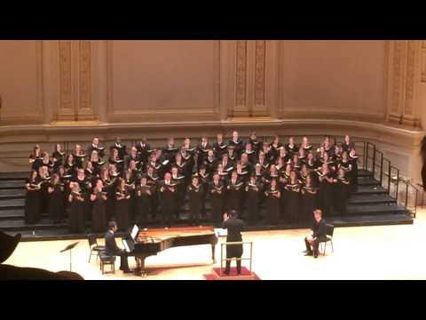 Texas A&M University Century Singers at Carnegie Hall