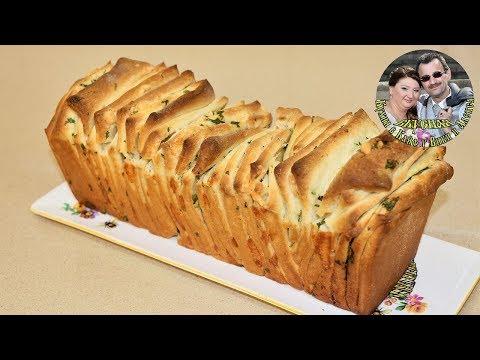 Отрывной Чесночный Хлеб