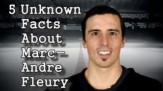 Marc-Andre Fleury/5 Facts You Never Knew