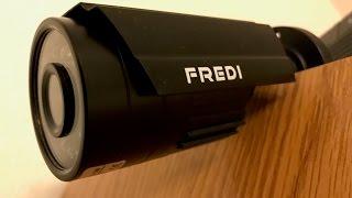 FREDI 8CH Security Camera System w/ DVR